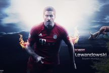 Robert Lewandowski / Robert Lewandowski is a Polish professional footballer who plays as a striker for Bundesliga club Bayern Munich, and captains the Poland national team. Wikipedia Born: 21 August 1988 (age 29), Warsaw, Poland Height: 1.85 m Nationality: Polish Spouse: Anna Lewandowska (m. 2013) Salary: 10 million EUR (2016) Current teams: FC Bayern Munich (#9 / Forward), Poland national football team (#9 / Forward)