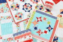 Designer Camille Roskelley / Beautiful quilts and fabrics from Thimble Blossom designer, Camille Roskelley