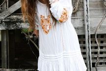 Summer look 2014 / Kaftans and sandals
