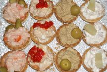 Party food / Canapés and other easy finger food for parties