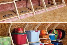 Attic and Garage / by Maria Johnson Hurt