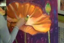 Malerier teknik