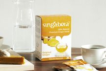 Ginger Drinks / Line of our premium all-natural ginger drinks for a blissful moment of pure pleasure.