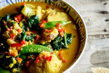 Indian food / vegan or able to be veganised curry recipes.