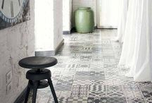 Tiles to walk on / Put art on your own floor