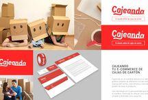 e-commerce / Cajeando.com, tú tienda online de cajas de cartón.