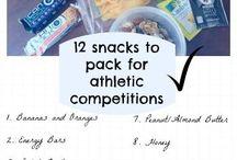 Hockey snacks, meals