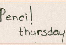 Pencil thursday / Ode aan het handgeschreven bericht