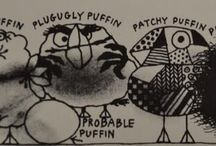 A trip down memory lane / Looking back at highlights from the Puffin Books archive. #Throwback