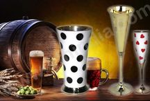 Brass Wine Goblets / Brass Wine Goblets,Julep Cup,Drinking Vessels,Wine Glasses
