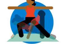 yoga / by Nora Detellis