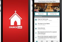 Apps for Churches / Church apps that might be useful. #apps #church