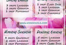 Etherische öle / aceites esenciales / essential oils