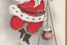 Vintage Cards & Postcards-Christmas