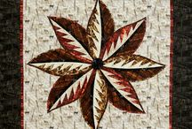 Eight: Quiltworx.com Leaf Series / For more information about the EIght: Quiltworx.com Leaf Series pattern, visit http://www.quiltworx.com/patterns/eight-quiltworx-com-leaf-series/. To be taken directly back to this pattern page on Quiltworx.com, simply click on any of the images below.  / by Quiltworx Judy Niemeyer