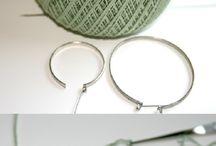 Aros tejidos a crochet