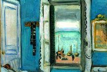 mmmmmmm... / - favourites from Monet, Matisse, Miro, Modigliani, Manet, Morandi, Magritte, Mondrian... -