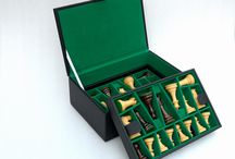 Chess Storage Box / Chessbazaar offers high quality range of exclusive hand crafted wooden and leather chess storage boxes for chessmen. Wooden chess storage boxes has  a green felt inside and the leather chess storage boxes has beige velvet cloth to keep your high quality and valued chessmen scratch free and safe.