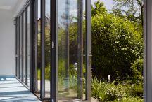 Glasfalttür / Glasfaltwand / Glasfalttür Glasfalttüren, Glasfaltwand, Glasfaltwände,  Verbinden Sie drinnen mit draußen  Mester Solarlux Bielefeld OWL