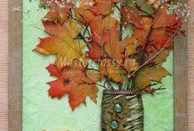 осень поделки