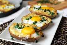 Breakfast Ideas I Need to Work On / Photos of food that might work at the Inn at Green River!