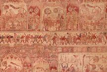 Indian textiles / Au fil des tissus Indiens...