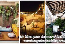 29 Ideas para decorar el balcón, terraza de tu apartamento