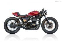 Motos( BMW, Bobbers, custom,etc..) / Motos avec une gueule d'enfer ! / by Skaal