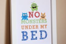 Monster bedroom