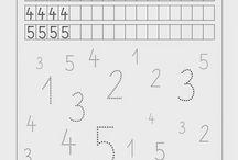 nauka pisowni cyfr