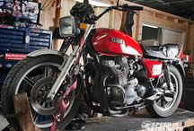 1978 Yamaha XS1100 Build. / The Rust and Redemption™ 1978 Yamaha XS1100 rebuild by Plymouth Cycle and Speed.