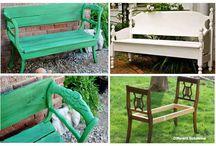 Furniture/repurpose ideas  / by Stephanie N.