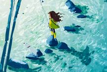 Sea and Water Art / by Marsilja Roetemeijer