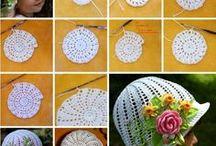 chapeus com flores