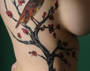 tattoos-Branches trees