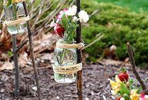 dekoracia zavaraninové poháre