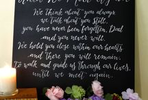blackboard ideas for wedding