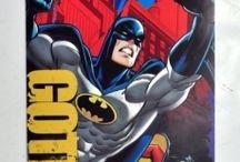 Koce i ręczniki Batman / https://pl.pinterest.com/batmanpolska/