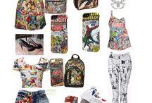 Marvel/DC Clothing & Stuff