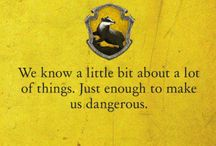Proud to be Hufflepuff ;3