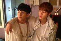 0. Bts JungKook and Jin