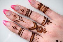 Henna tattoos by sneeeni