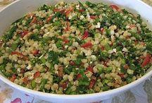 salatalar / börekler