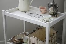 tea trolley diy