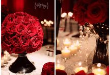 WOWedding - Red & Black Classic Wedding / Classic Red and Black themed wedding