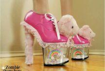 Zombie peepshow shoes