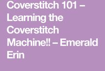 Cover stitch machine