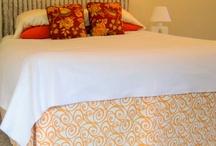 DIY fake bedskirt