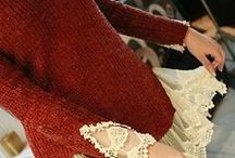 refashioning with lace