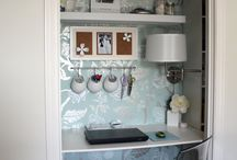 organize your WORKSPACE / by Angela